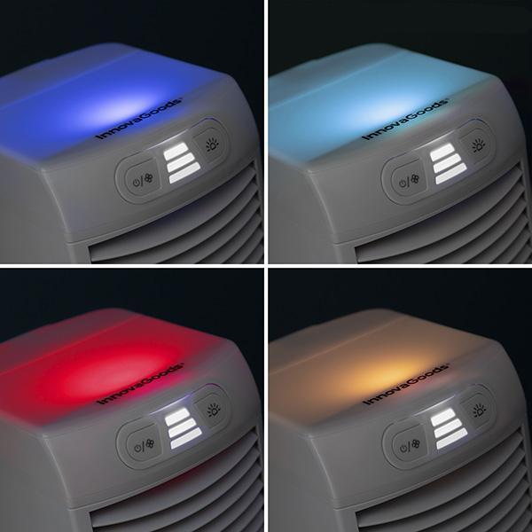 Luftkylare och fläkt med LED FreezyQ+
