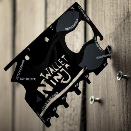 The Wallet Ninja 18-i-1 Kreditkortverktyg