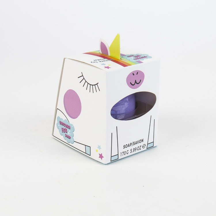 Enhörningsägg - Tvål med Leksak