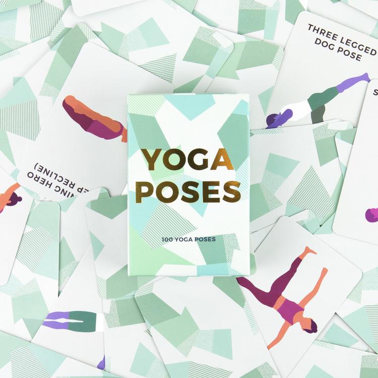 Inspirerande Yogakort