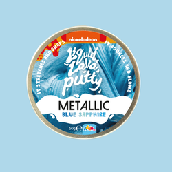Liquid Lava Putty Metallic - Blå