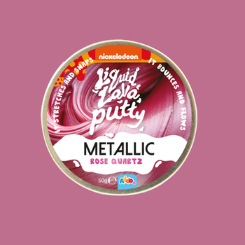 Liquid Lava Putty Metallic - Rosa