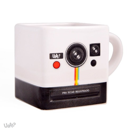 Retro Polaroid Mugg- Instagram