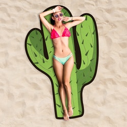 Kaktus Strandhandduk