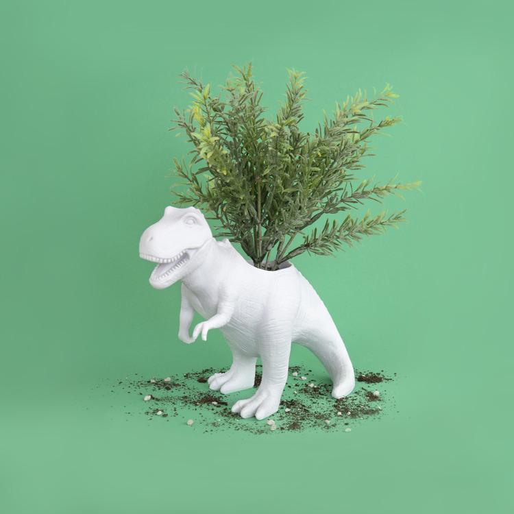 T-Rex Dino Planter