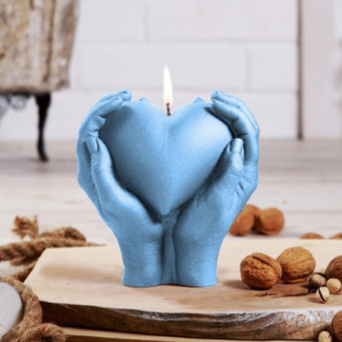 Hand Candle - Love