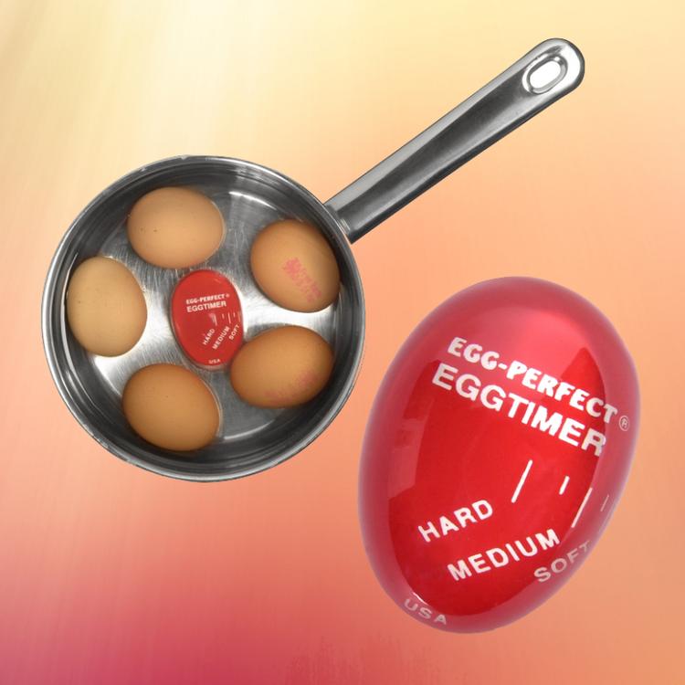 Äggtimer med färgskiftning