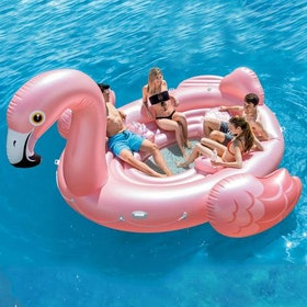 Flamingo Party Island - Intex Uppblåsbar Flamingo