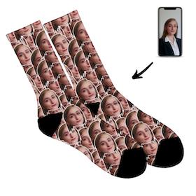 Personliga  Strumpor- Full Face socks - Dam