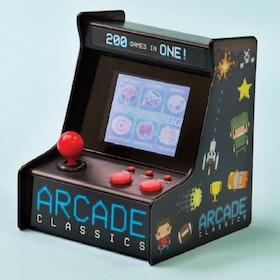 Spelkonsol - Arcade Retro Game - 200 inbyggda 8-bitars