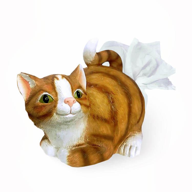 Katt servetthållaren