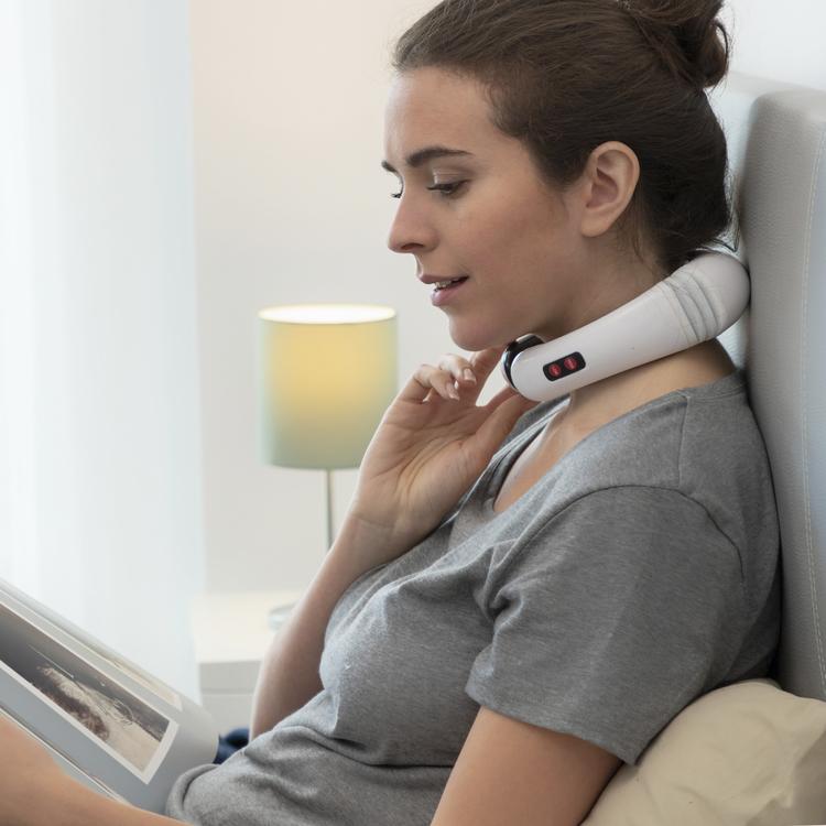 Elektromagnetisk Nack- och Ryggmassager