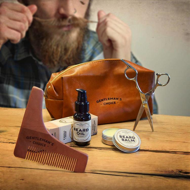 skäggvård kit