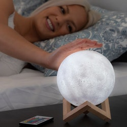 Månlampa Multicolor - Moon Lamp