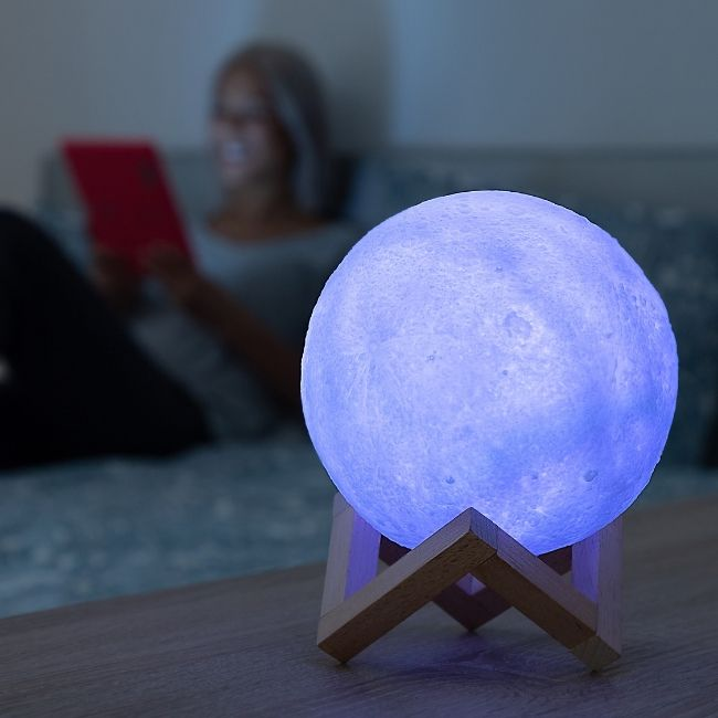 3d moonlamp