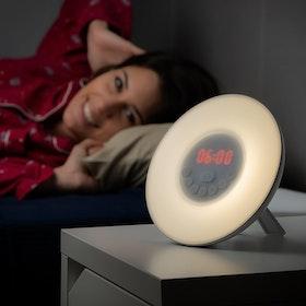 Wake-up light - Väckarklocka -  6 färger