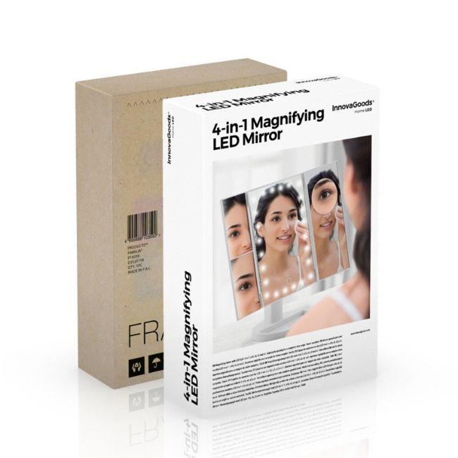 Sminkspegel med LED-belysningSminkspegel med LED-belysning