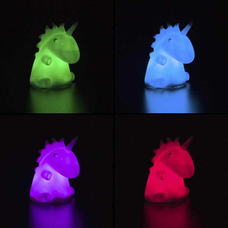 Multicolor Enhörningslampa led