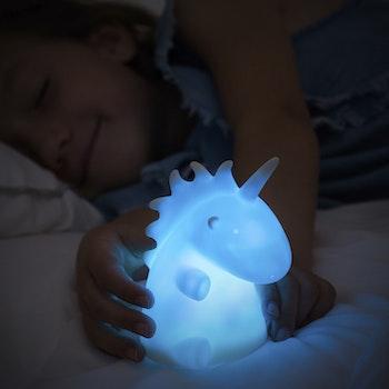 Enhörning Nattlampa för barn - Multicolor