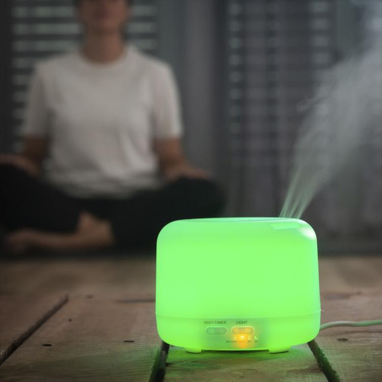 Luftfuktare Aromaterapi Diffuser Multicolor