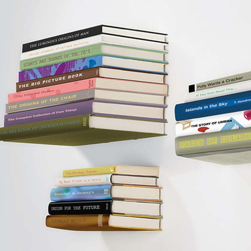 Osynliga Bokhylla - The invisible bookshelf