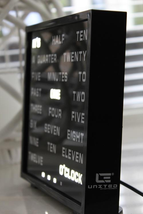 Led Ordklocka - Word clock
