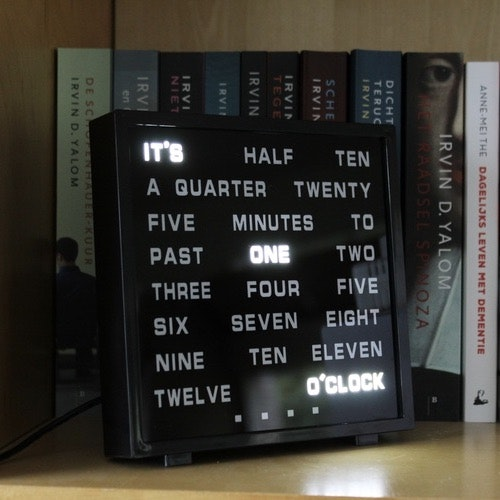 Led Ordklocka - Word clock