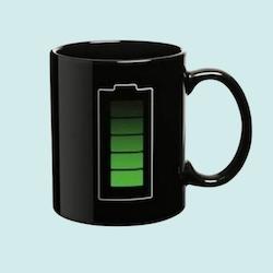 Värmeskiftande mugg - Batteri