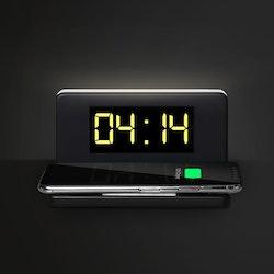 Väckarklocka  med Trådlös laddare