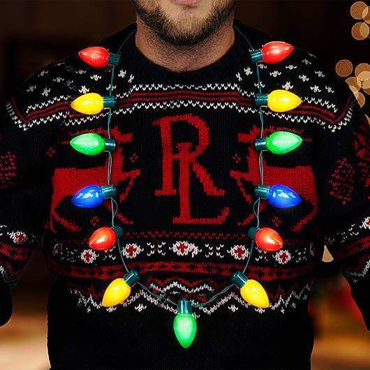 Festligt halsband - Jul