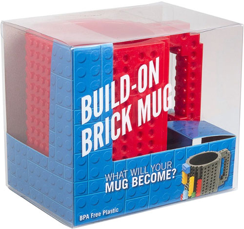 Build On Brick Mugg - Lego