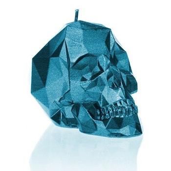Skalle Ljus - Metallisk Blå