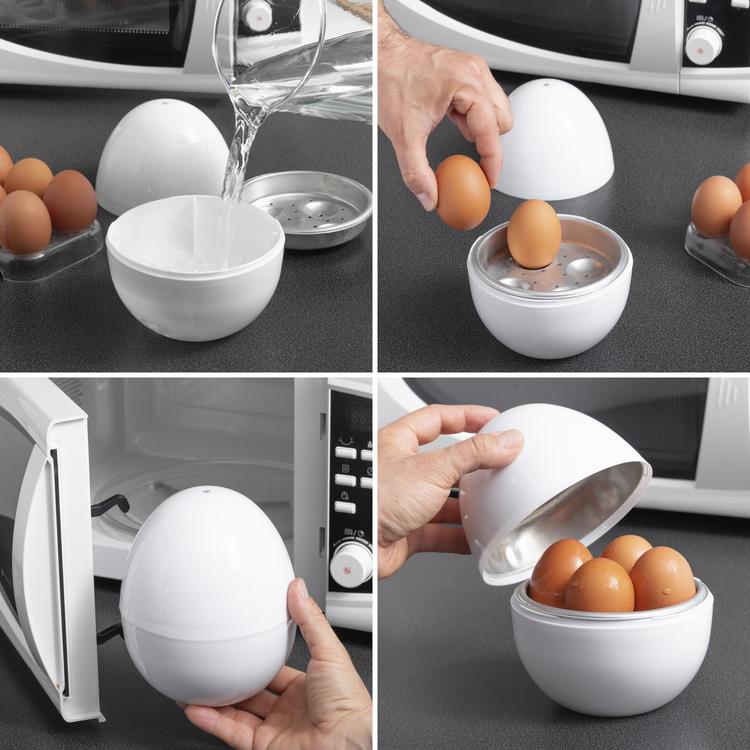 Äggkokare för Mikrovågsugn