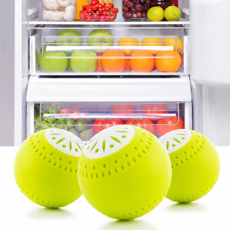 Ekobollar till kylskåp - Eliminerar Dålig Lukt