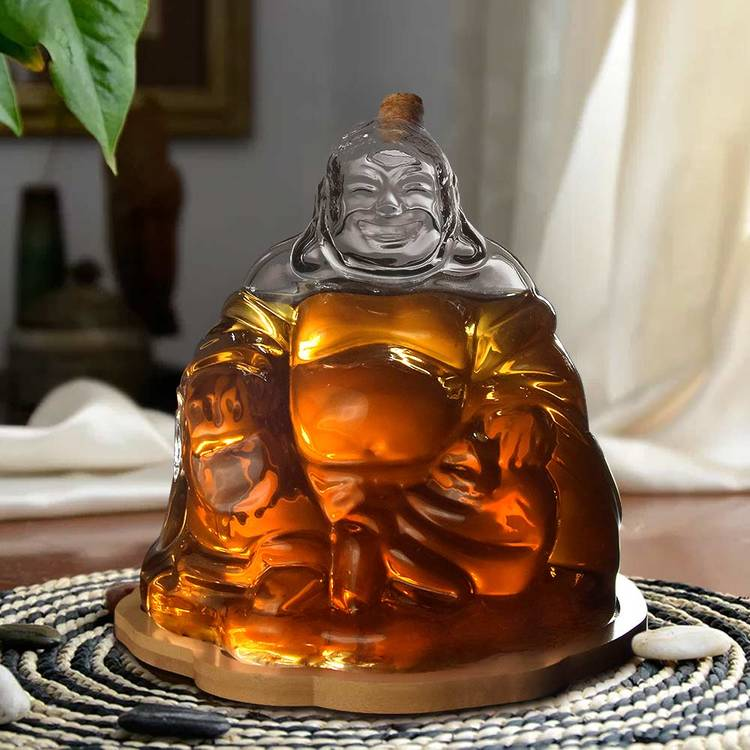 Buddha Decanter - Whiskey karaff