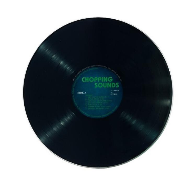 Retro Vinylskiva Skärbräda