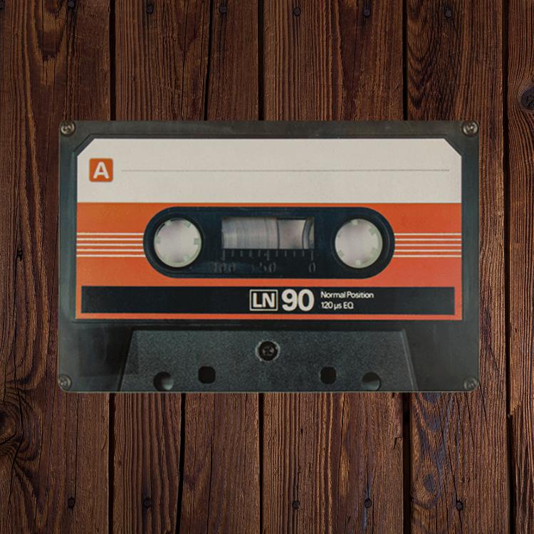 Bordstabletter Retro kasett