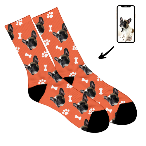 Hund - Personliga Strumpor