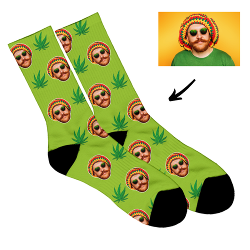 Cannabis - Face Socks