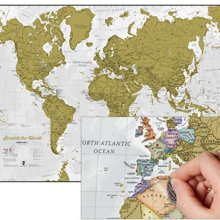 Scratch the World - Maps International