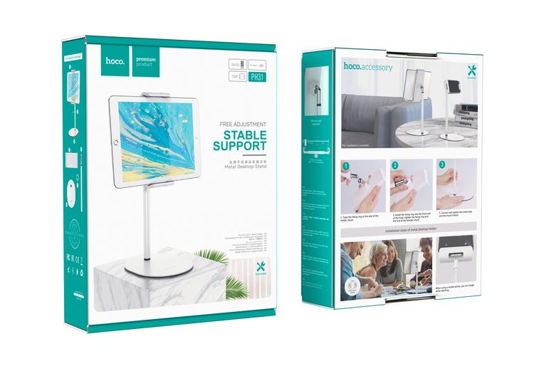 Justerbart Desktop Ställ för Surfplatta - Mobil