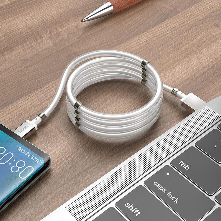 Magnetisk laddningskabel för Android