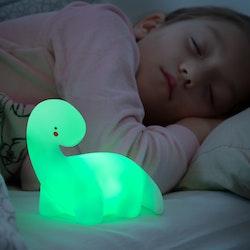 Dinosaurie Nattlampa för barn - Multicolor