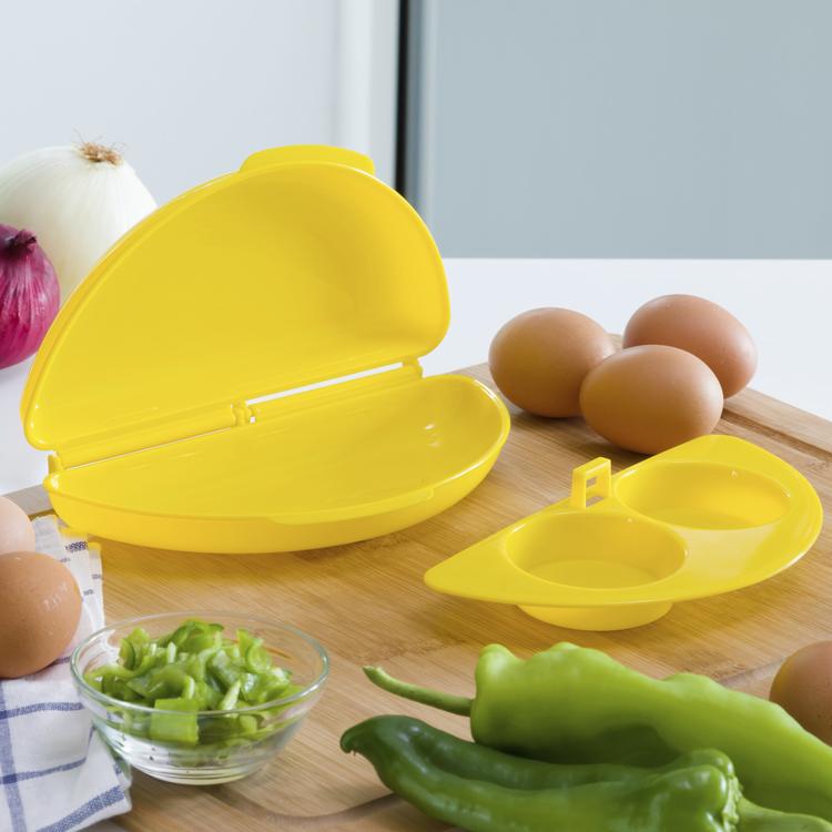 omelett & äggtillverkare i Mikron