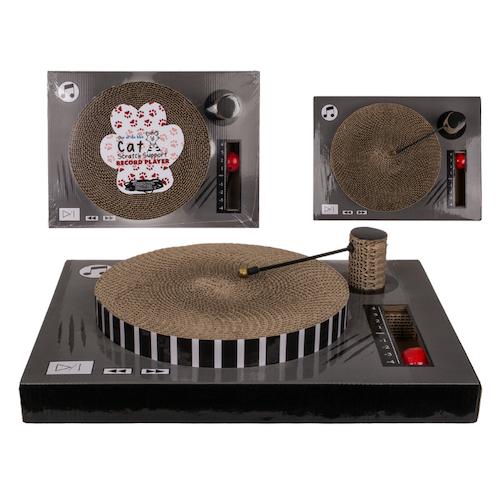 Klösbräda - Katt Vinylspelare