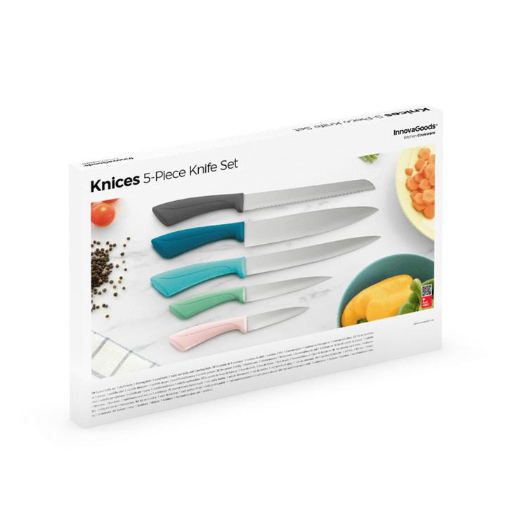 Innovagoods Knivset med 5 Knivar