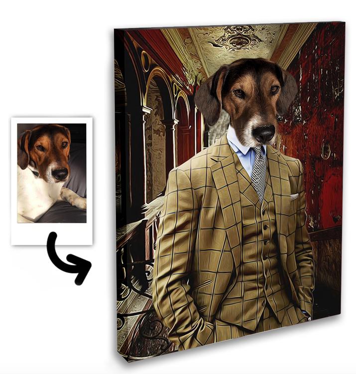 Personligt Djur Porträtt