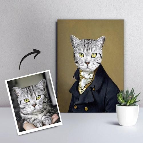 Personligt Djurporträtt - Snygga Djur Canvastavla