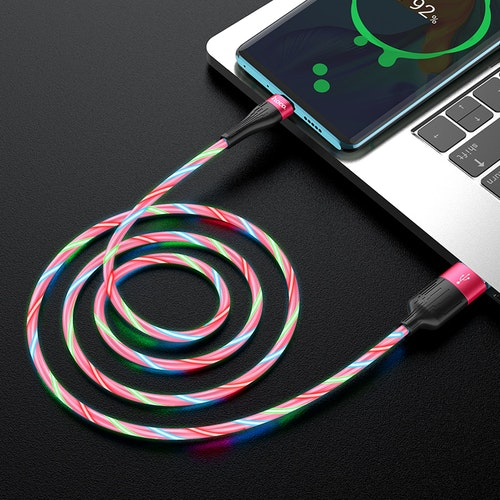 "LED ""streamer"" Effekt / USB-C kabel"
