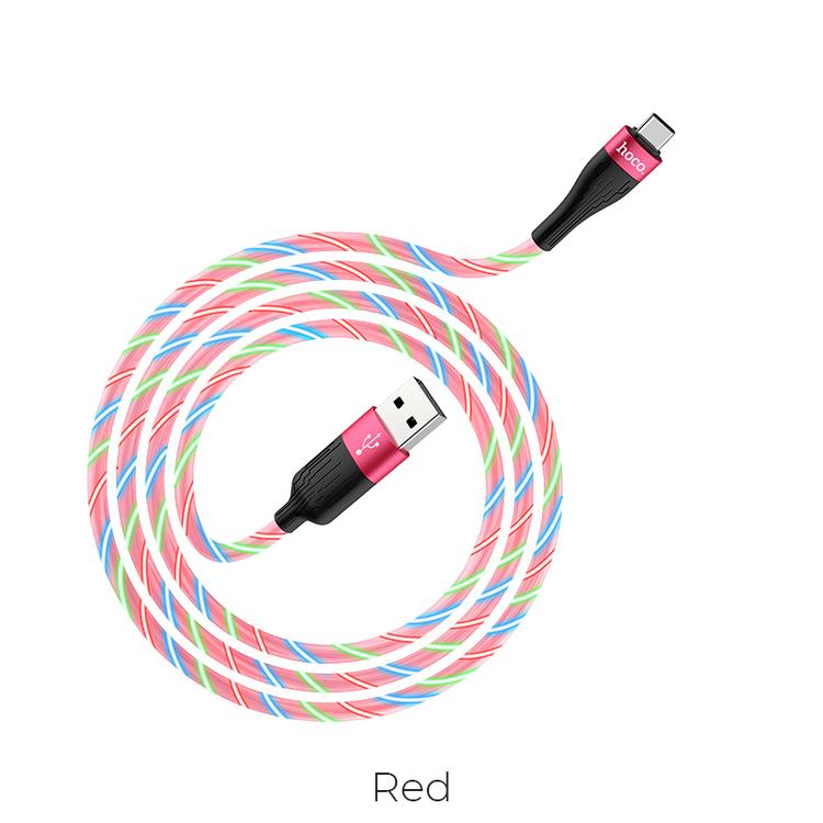 """LED """"streamer"""" Effekt / USB-C kabel"""
